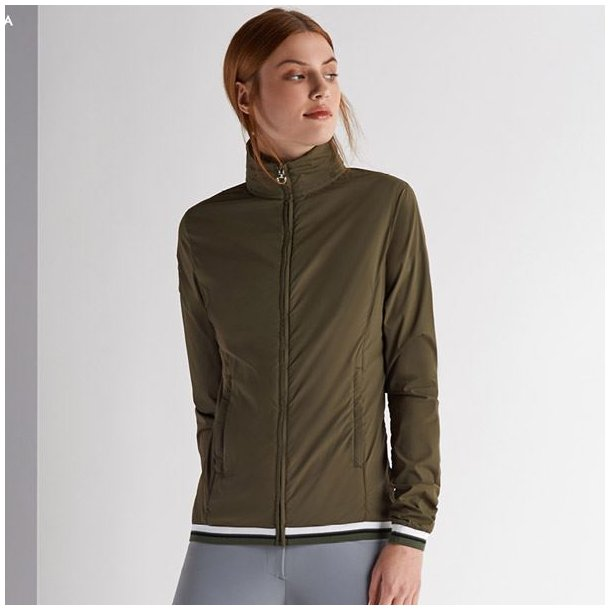 Cavalleria toscana Nylon Hooded Windbreaker