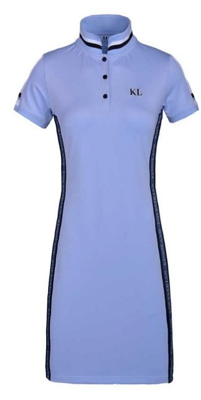 Kingsland Dorma kjole - blue kentucky