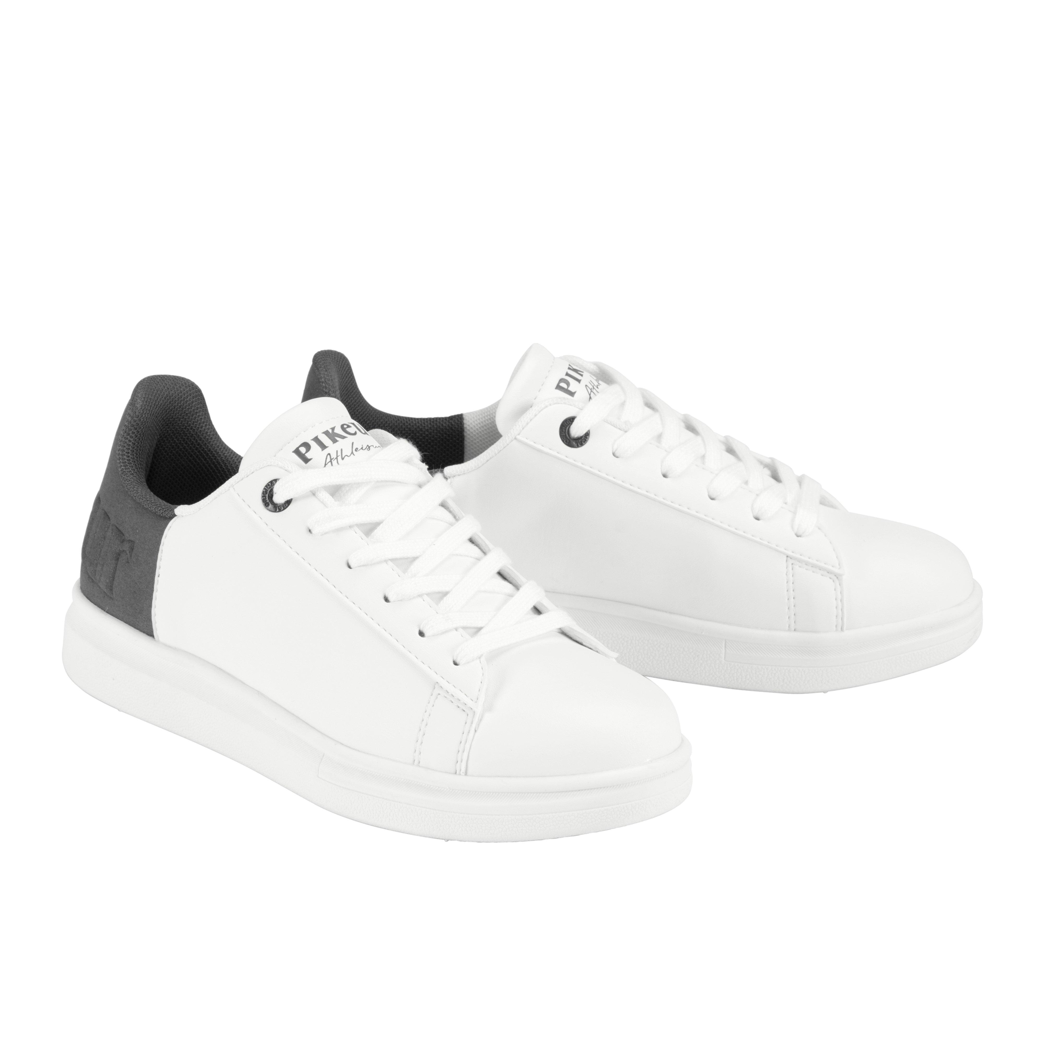 Pikeur Lia Velour Sneaker - Hvid/Grå